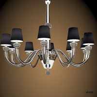 barovier toso amsterdam luxury modern glass chandelier